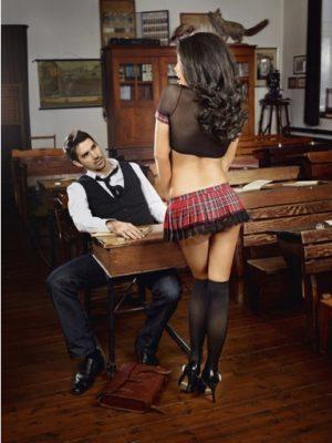 baci schoolgirl costume