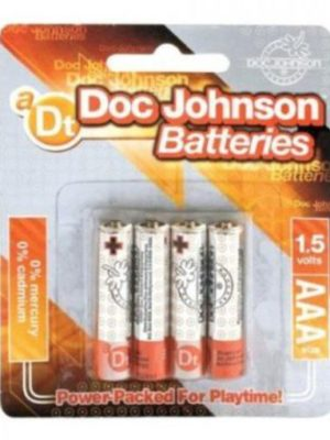 pack of four aaa batteries
