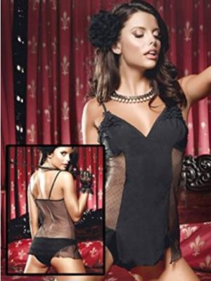 Beautiful black chemise set