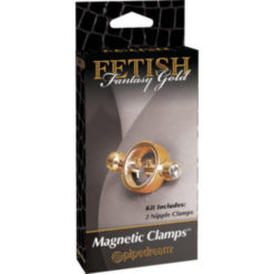 magnetic gold nipple clamps