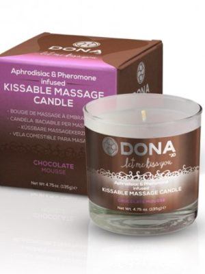 edible chocolate mousse massage oil candle