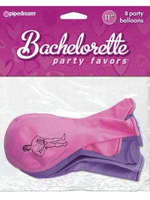 Bacheloette hunky guy balloons