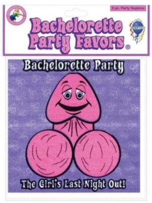 bachelorette paper napkins