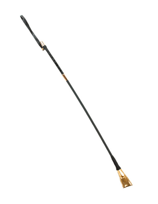 gold riding crop