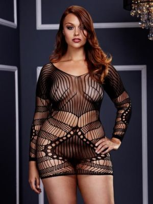 lace mini dress queen size
