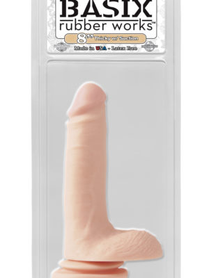 8 inch suction cup thick dong