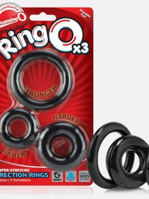 pack of 3 ringo cock rings