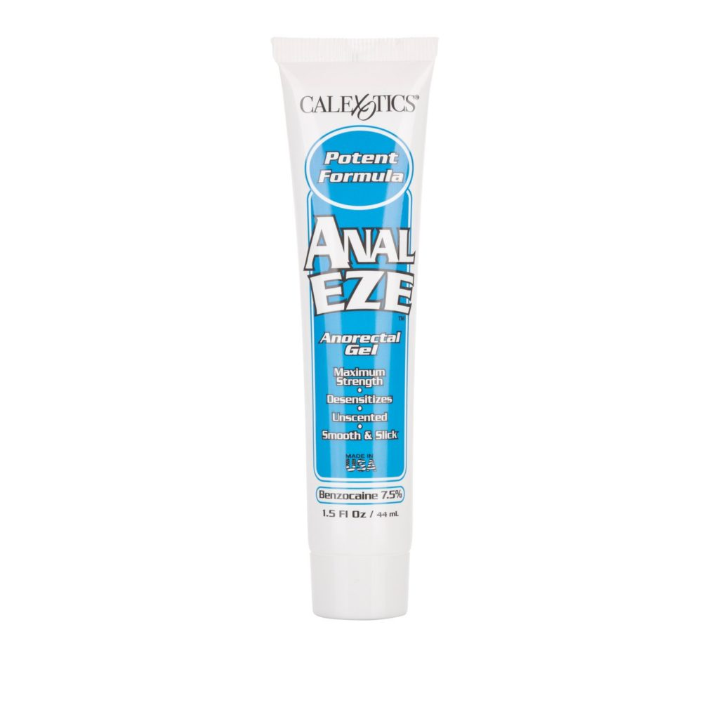 Anal Eze gel lotions and anal creams