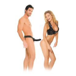 unisex black strap on