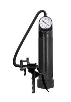 penis pump with PSI gauge and trigger handle
