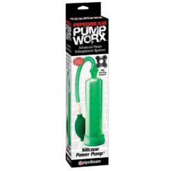 green penis pump