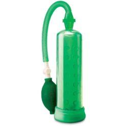 penis pump green