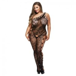 queen size floral bodystocking