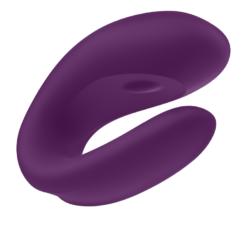 satisfyer double joy purple