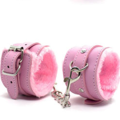 soft pink cuffs rated r