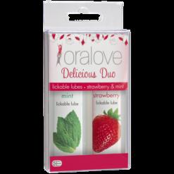 oralove lickable glides flavoured lubricants