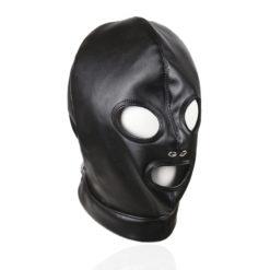 leather hood 3 holes
