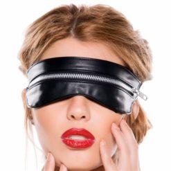 zipped eye mask and collar set